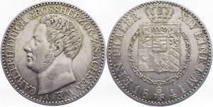 1 Taler 1841, Großherzogtum Sachsen-Weimar-Eisenach