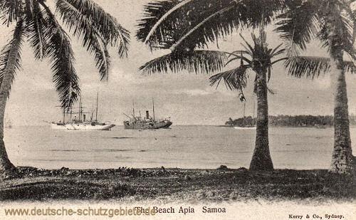 Samoa, Apia, The Beach