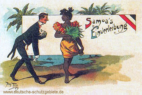 Samoa's Einverleibung