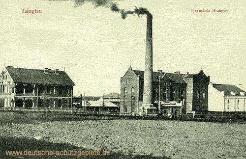 Tsingtau, Germania-Brauerei