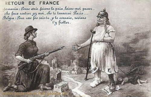 """Germania, """"Retour de France"""""""