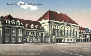 Hamm i. W., Neues Bahnhofsgebäude