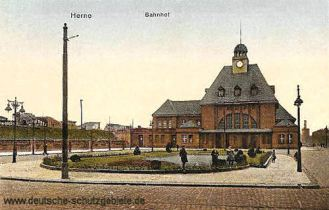 Herne, Bahnhof