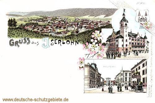 Iserlohn, Kaiserplatz, Kirche