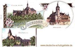 Iserlohn, Krankenhaus Bethanten, Alexanderhöhe, Obere Stadtkirche