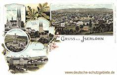 Iserlohn, katholische Kirche, Eisernes Kreuz, evangelische Kirche, Alexanderhöhe