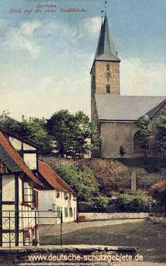 Iserlohn, obere Stadtkirche