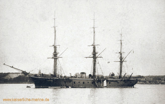 Kreuzerfregatte der Bismarck-Klasse