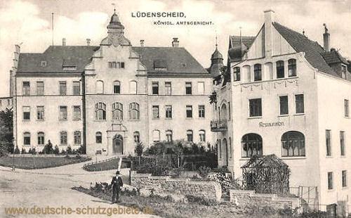 Lüdenscheid, Königliches Amtsgericht