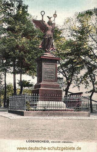 Lüdenscheid, Kriegerdenkmal