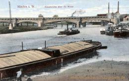 Minden i. W., Kanalbrücke über die Weser