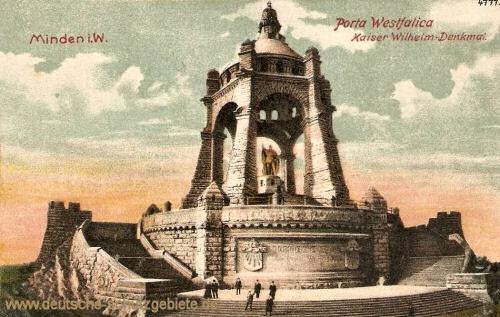 Minden, Porta Westfalica, Kaiser Wilhelm-Denkmal