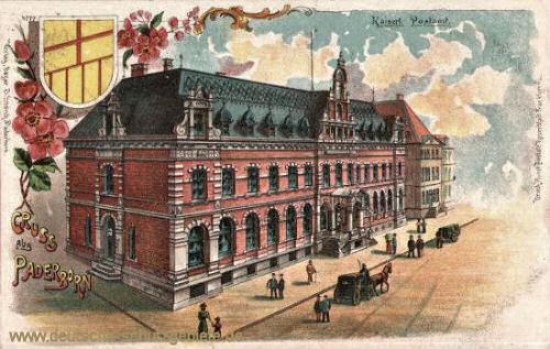 Paderborn, Kaiserliches Postamt