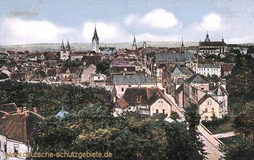 Paderborn, Stadtansicht