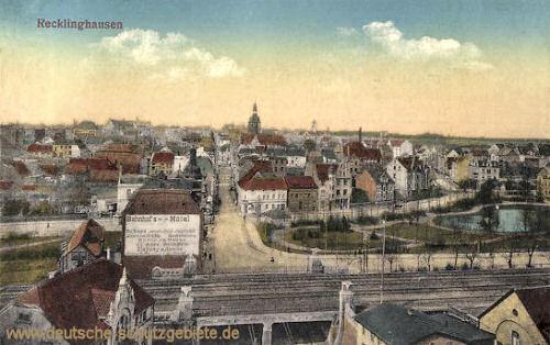 Recklinghausen, Stadtansicht