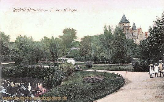 Recklinghausen in den Anlagen