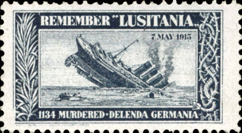 """Remember """"Lusitania"""" 7. Mai 1915"""