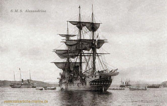 S.M.S. Alexandrine, baugleich mit Arcona