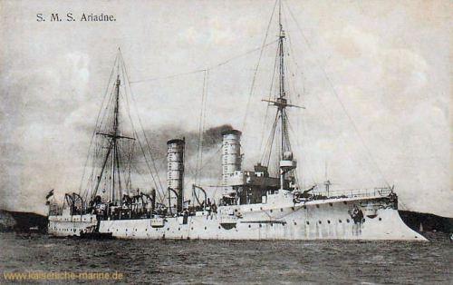 S.M.S. Ariadne, Kleiner Kreuzer
