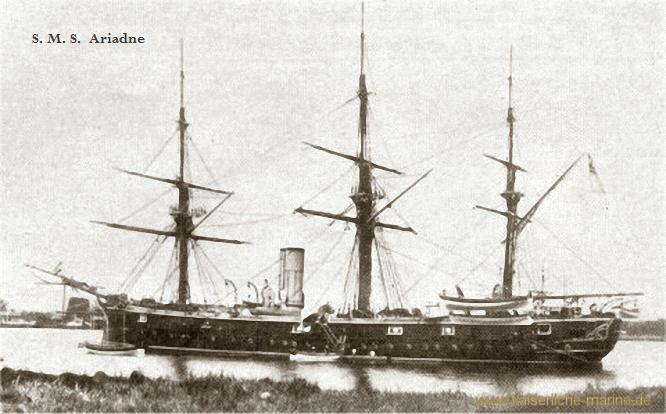 S.M.S. Ariadne, Kreuzerkorvette