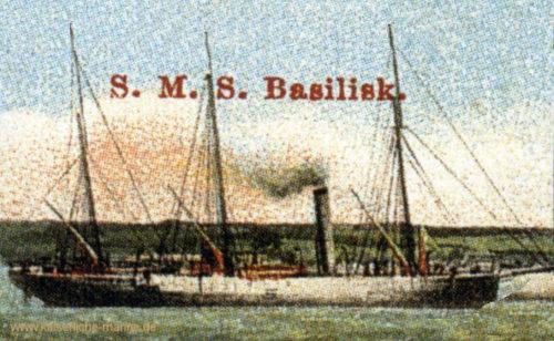 S.M.S. Basilisk, Kanonenboot I. Klasse