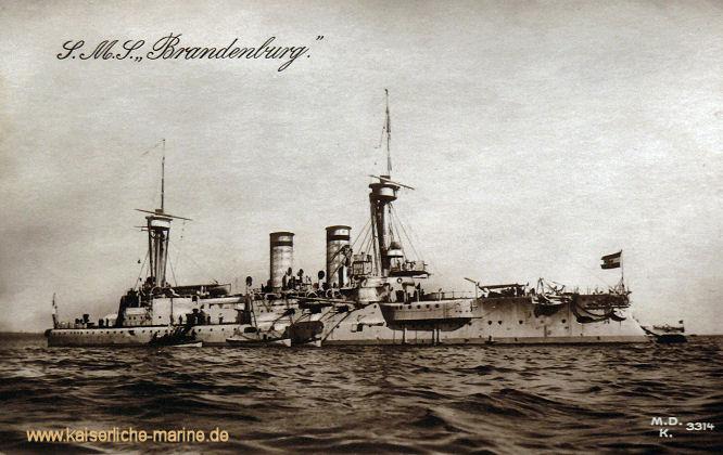 S.M.S. Brandenburg, Linienschiff