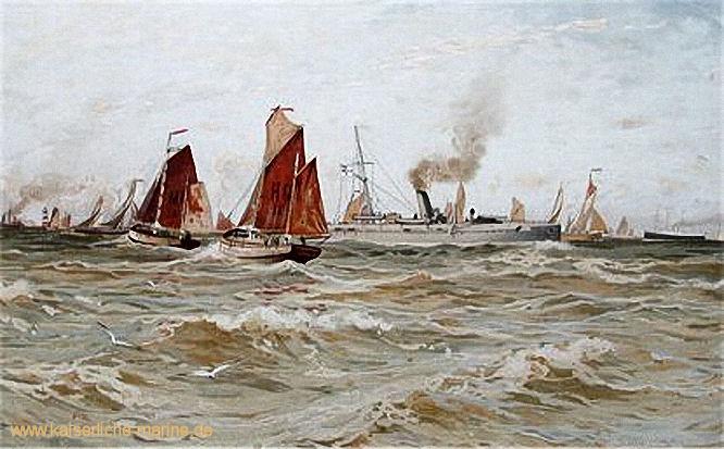 S.M.S. Bremse, Panzerkanonenboot