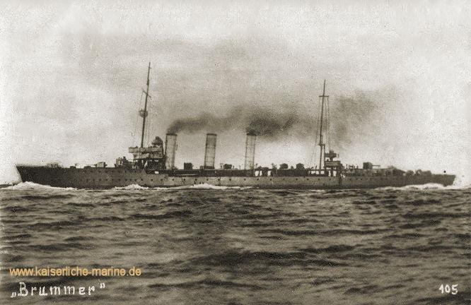 S.M.S. Brummer, Minenkreuzer
