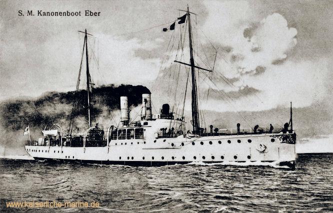 S.M.S. Eber, Kanonenboot 1899