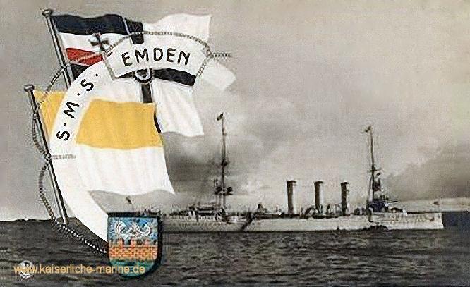 S.M.S. Emden, Kleiner Kreuzer 1908