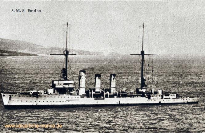 S.M.S. Emden, Kleiner Kreuzer 1916