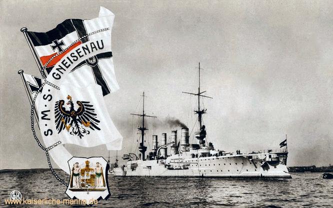S.M.S. Gneisenau, Großer Kreuzer