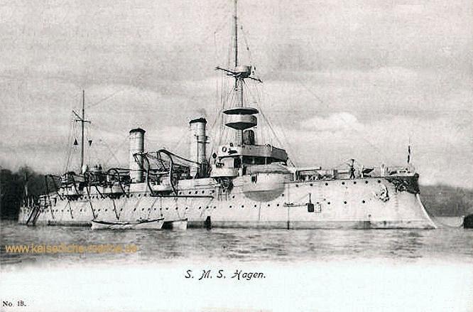 S.M.S. Hagen, Küstenpanzerschiff