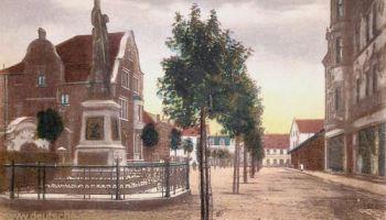 Wattenscheid, Partie am Kriegerdenkmal
