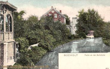 Bocholt, Partie an der Aarbrücke