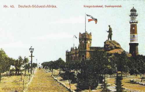 Deutsch-Südwestafrika, Swakopmund - Kriegerdenkmal
