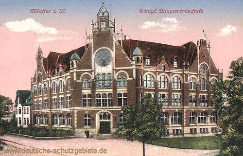 Münster i. W., Königliche Baugewerkschule