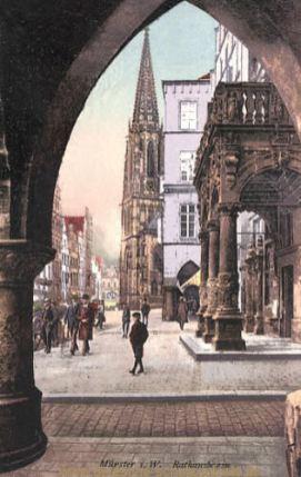 Münster i. W., Rathausbogen