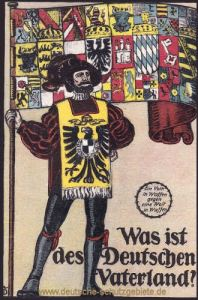 Was ist des Deutschen Vaterland?