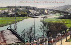 Witten-Bommern, Ruhrgarten mit Blick auf das Bergerdenkmal