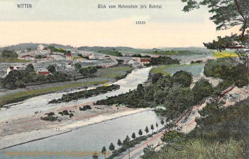Witten, Blick vom Hohenstein ins Ruhrtal