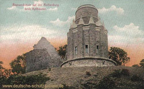 Bismarcksäule auf der Rothenburg beim Kyffhäuser
