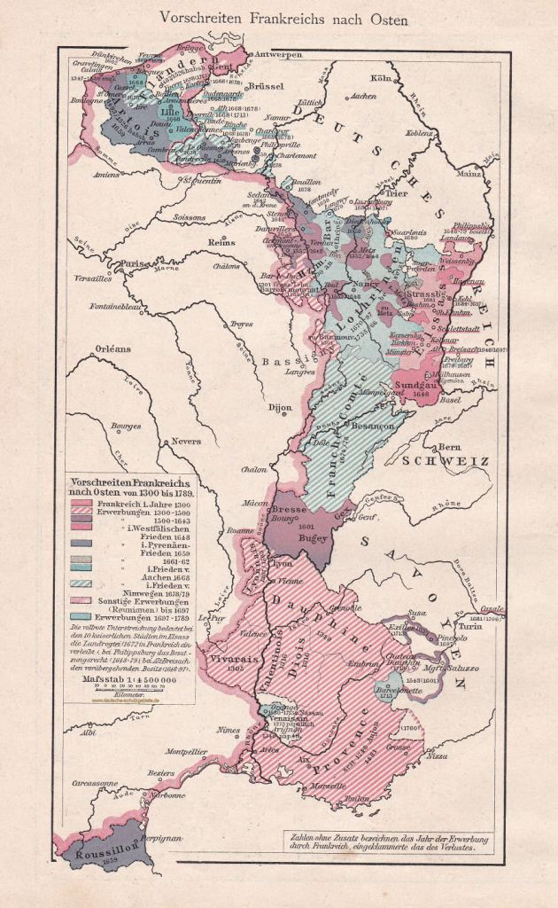 Frankreichs Ostexpansion 1300-1789