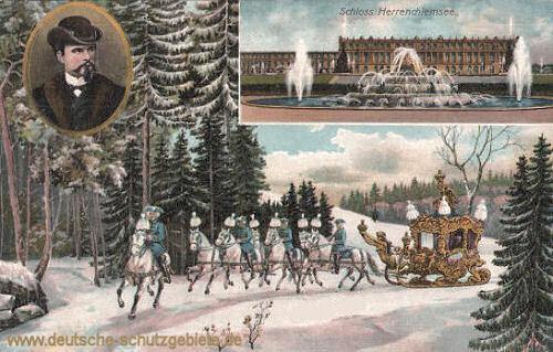 König Ludwig II., Schloss Herrenchiemsee