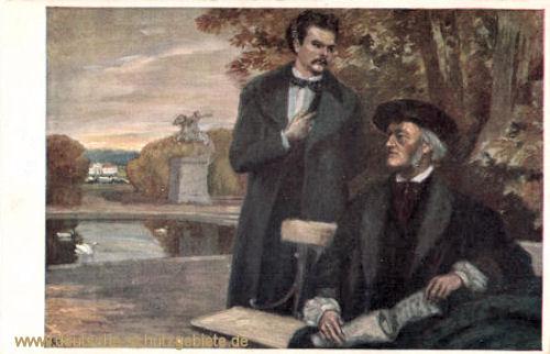 König Ludwig II. und Richard Wagner