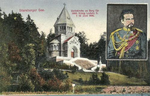 Starnberger See, Votivkirche zu Berg für Weiland König Ludwig II.
