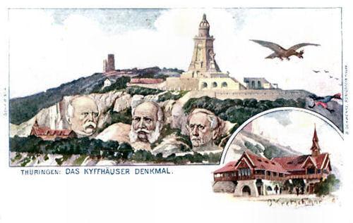 Thüringen, Das Kyffhäuser-Denkmal