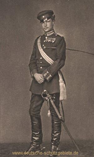 Hindenburg als Leutnant im Dritten Garde-Regiment zu Fuß im Feldzug 1870-71