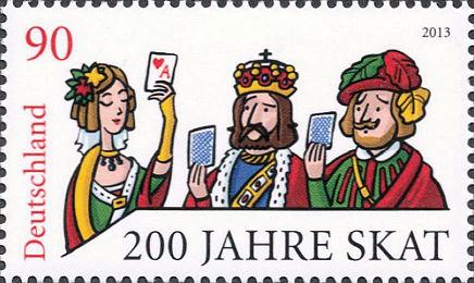 200 Jahre Skat, Deutschland 2013, 90 Cent