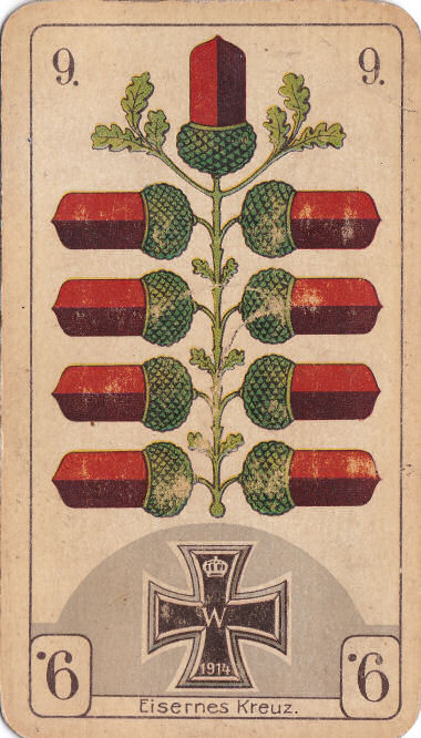 Eichel 9 (Eisernes Kreuz)
